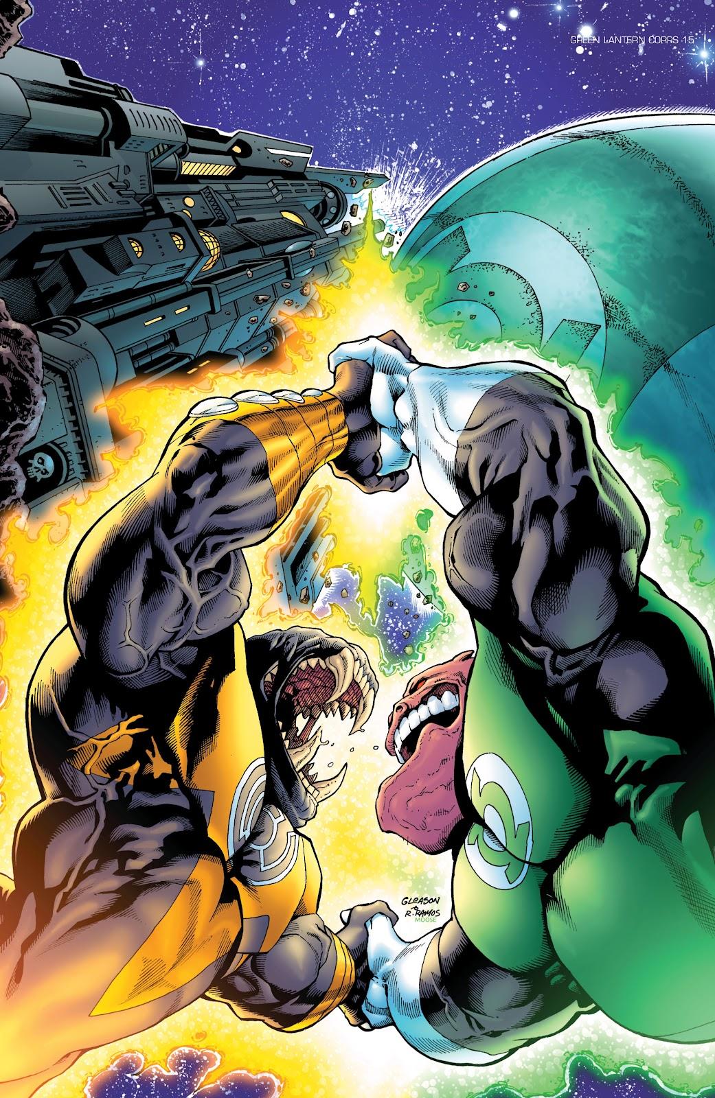 Green Lantern: The Sinestro Corps War Full #1 - English 112