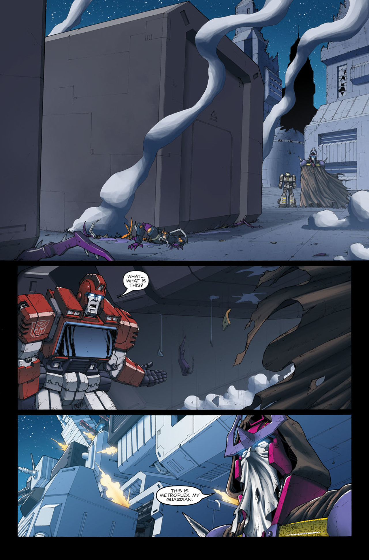 Read online The Transformers: Ironhide comic -  Issue #4 - 15