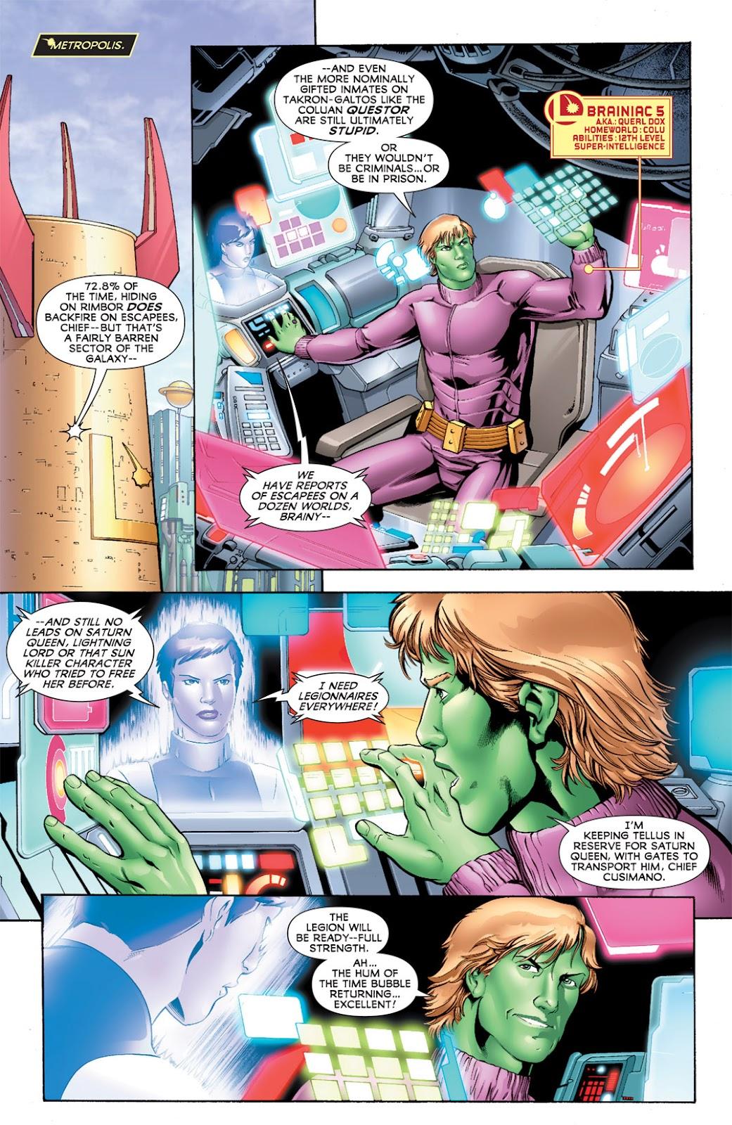 Legion of Super-Heroes (2010) Issue #11 #12 - English 7
