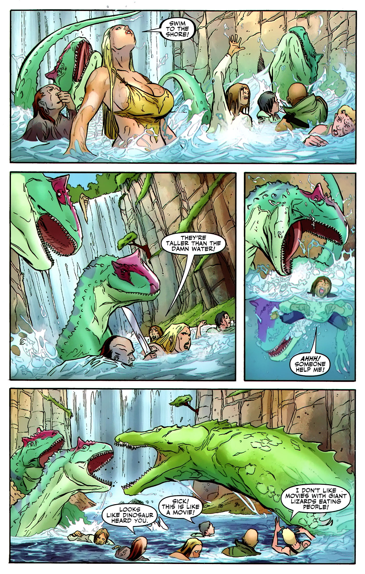 Read online Shanna the She-Devil: Survival of the Fittest comic -  Issue #2 - 6