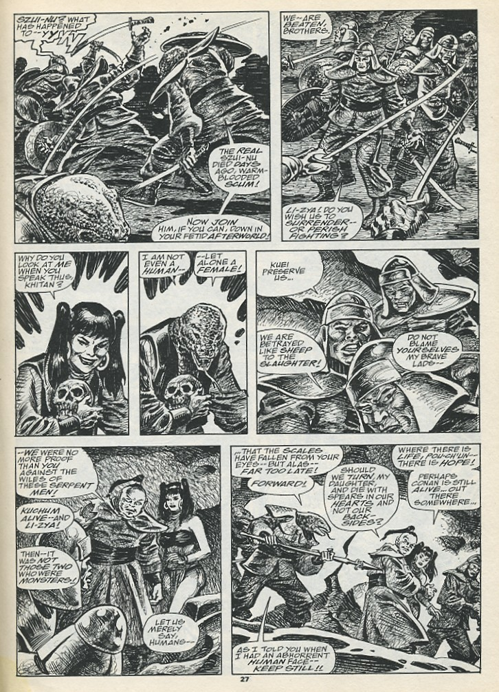The Savage Sword Of Conan Issue #193 #194 - English 29