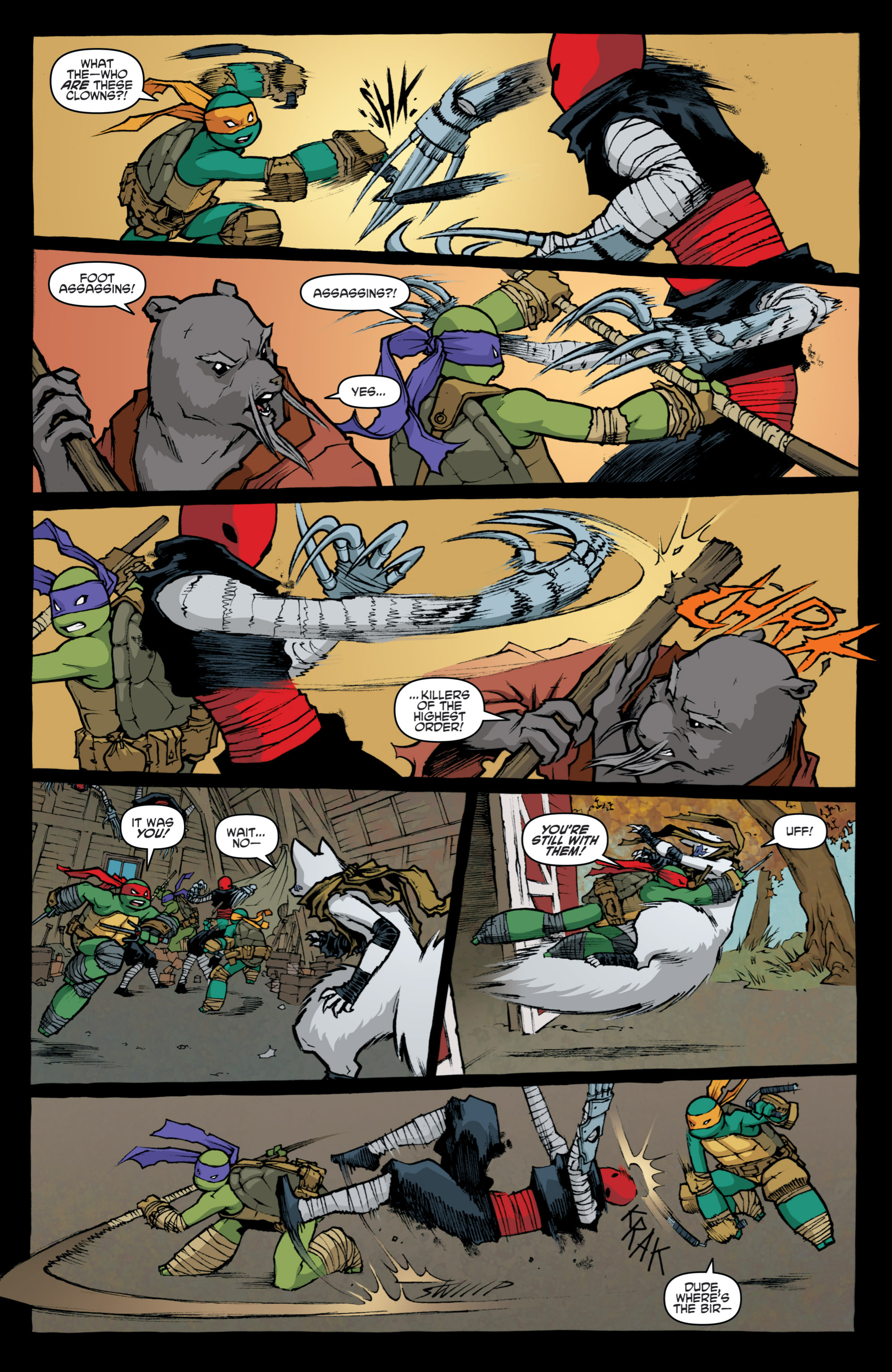 Read online Teenage Mutant Ninja Turtles (2011) comic -  Issue #31 - 22