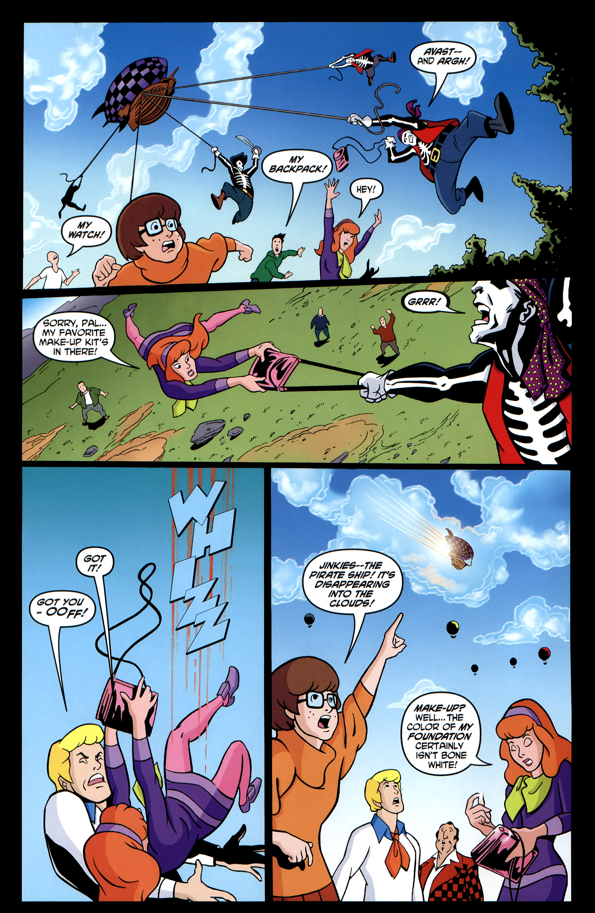 Read online Scooby-Doo: Where Are You? comic -  Issue #35 - 20
