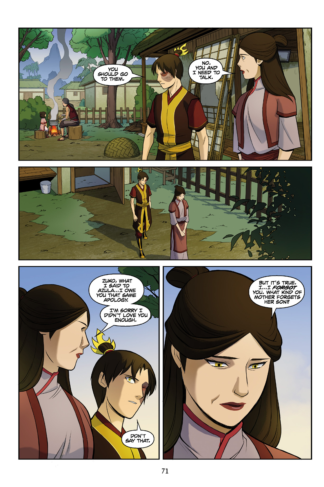 Read online Nickelodeon Avatar: The Last Airbender - The Search comic -  Issue # Part 3 - 71