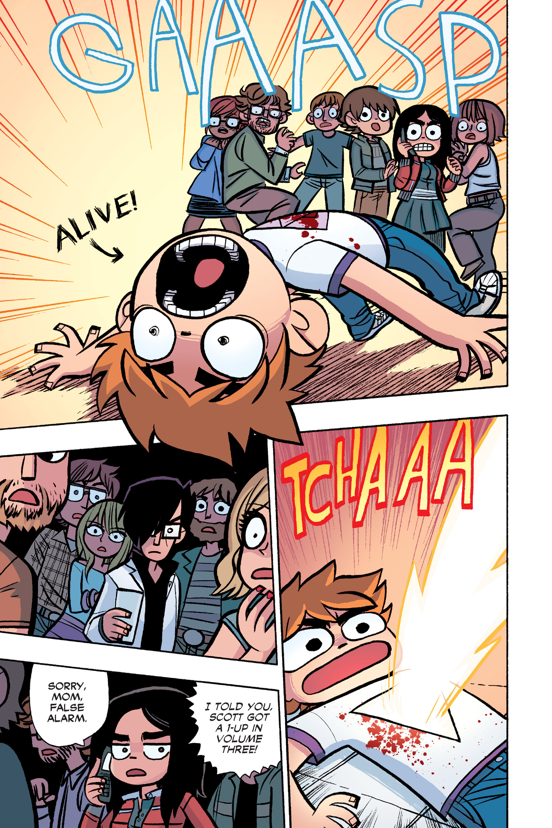 Read online Scott Pilgrim comic -  Issue #6 - 142