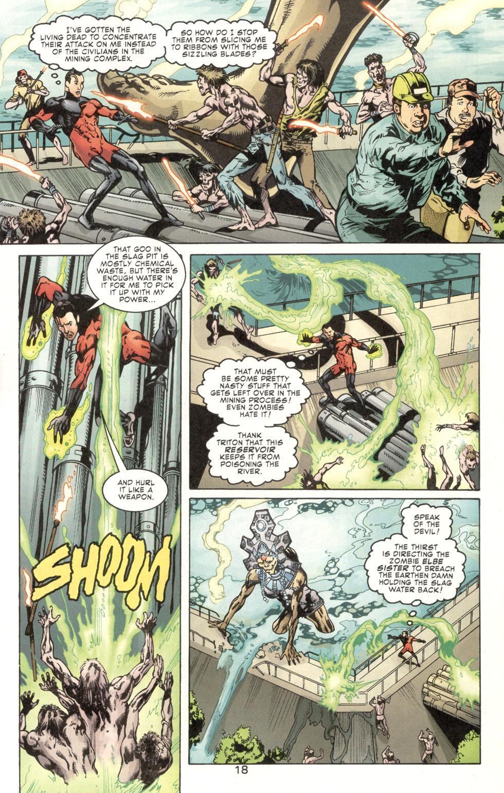 Aquaman (2003) Issue #7 #7 - English 20