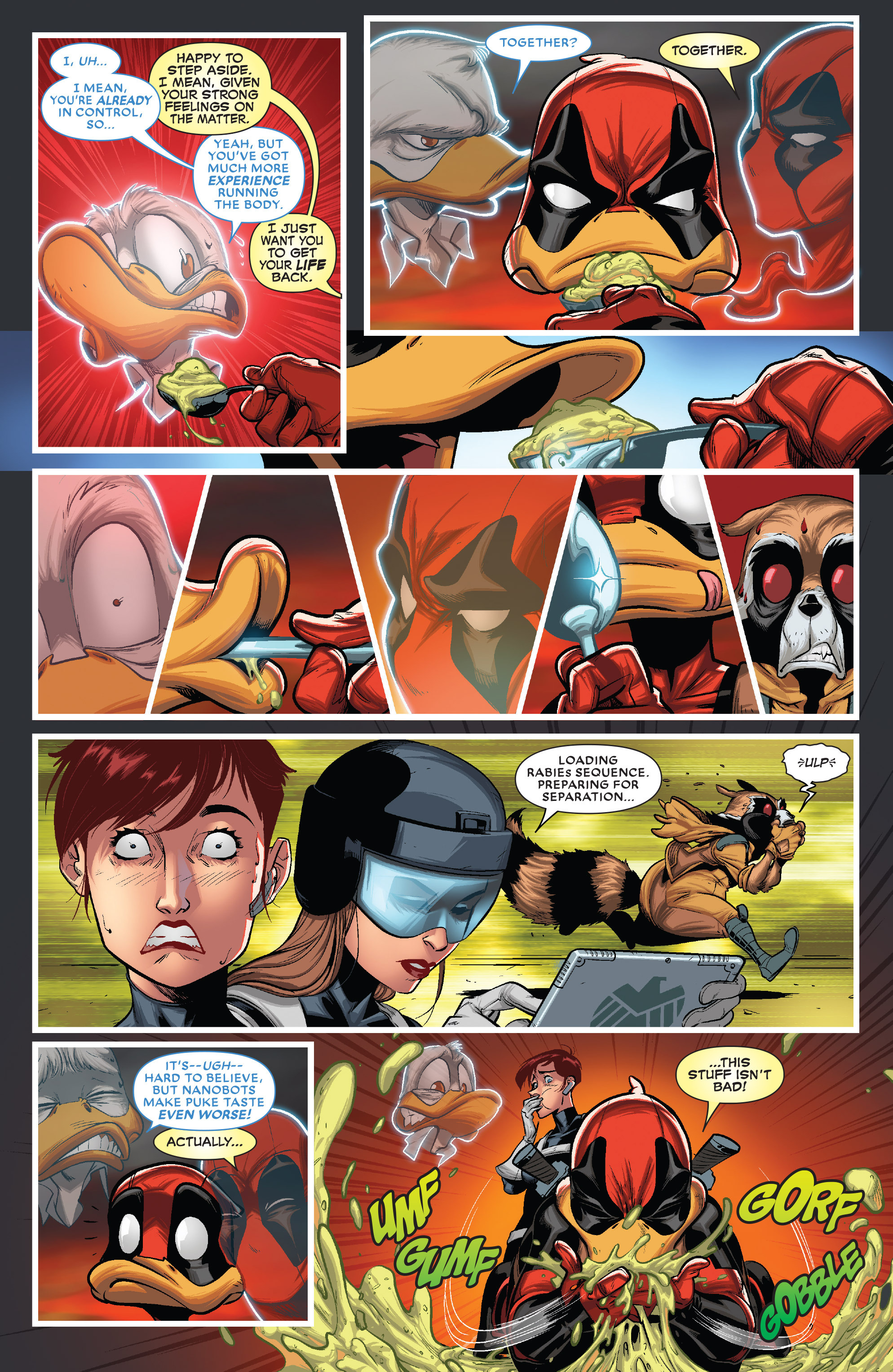 Read online Deadpool The Duck comic -  Issue #5 - 9