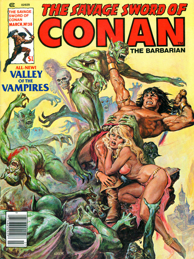 The Savage Sword Of Conan Issue #38 #39 - English 1