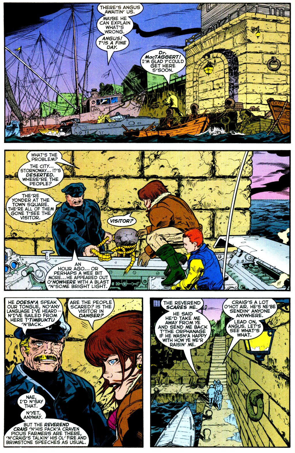Cable (1993) #-1 #109 - English 5
