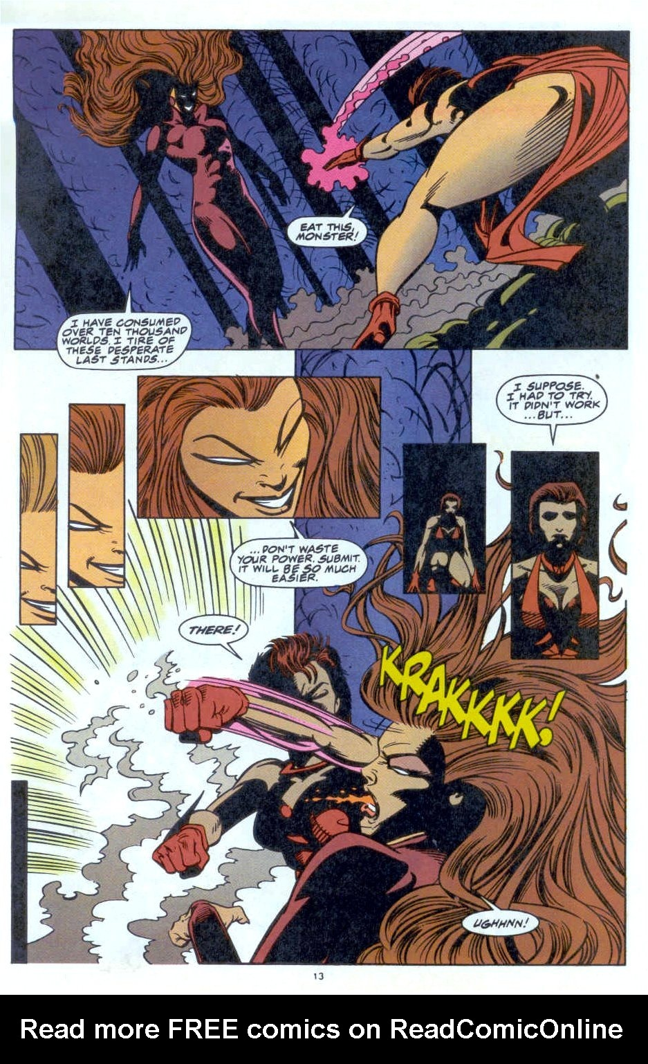 Scarlet Witch (1994) Issue #4 #4 - English 11