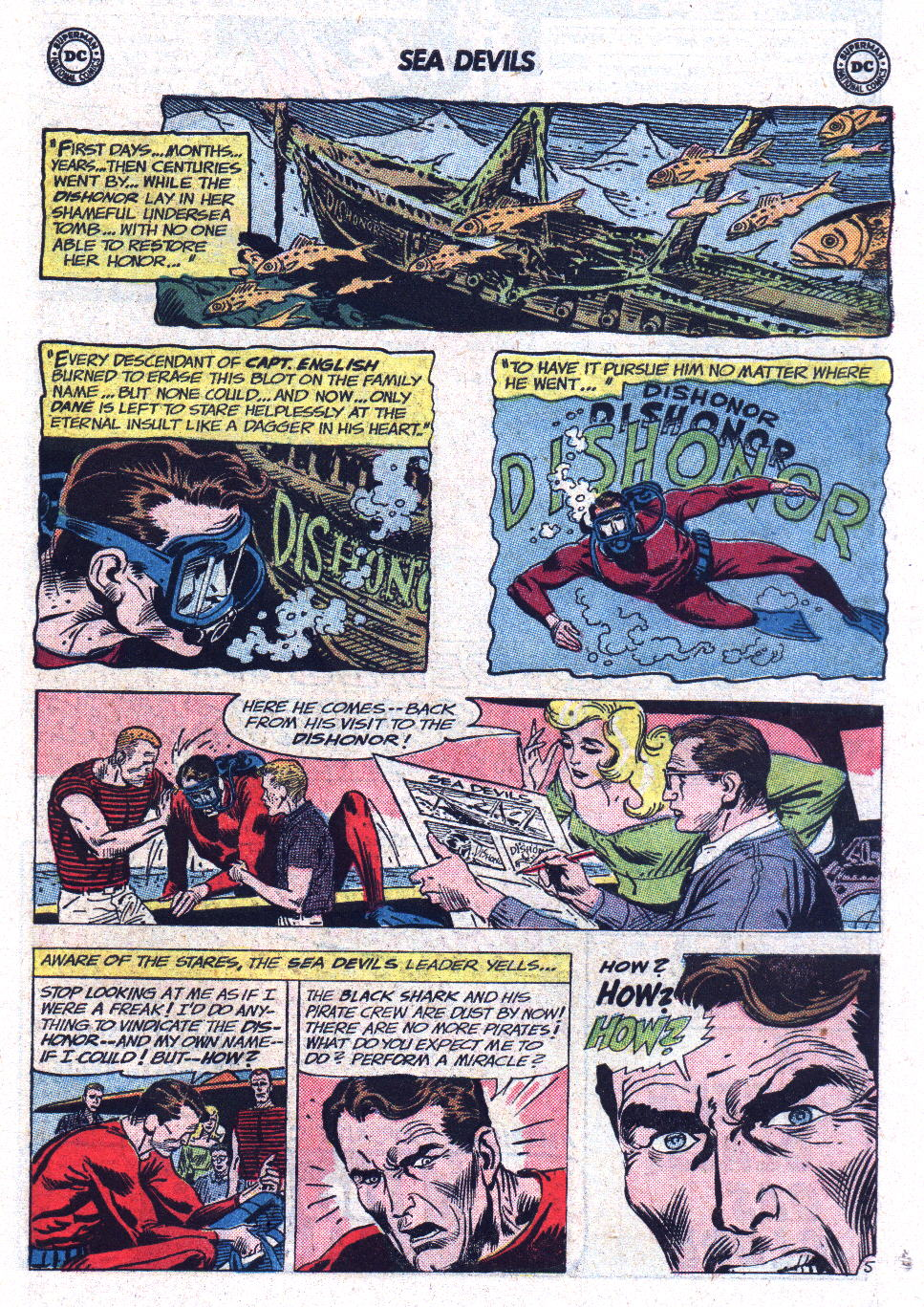 Read online Sea Devils comic -  Issue #13 - 7