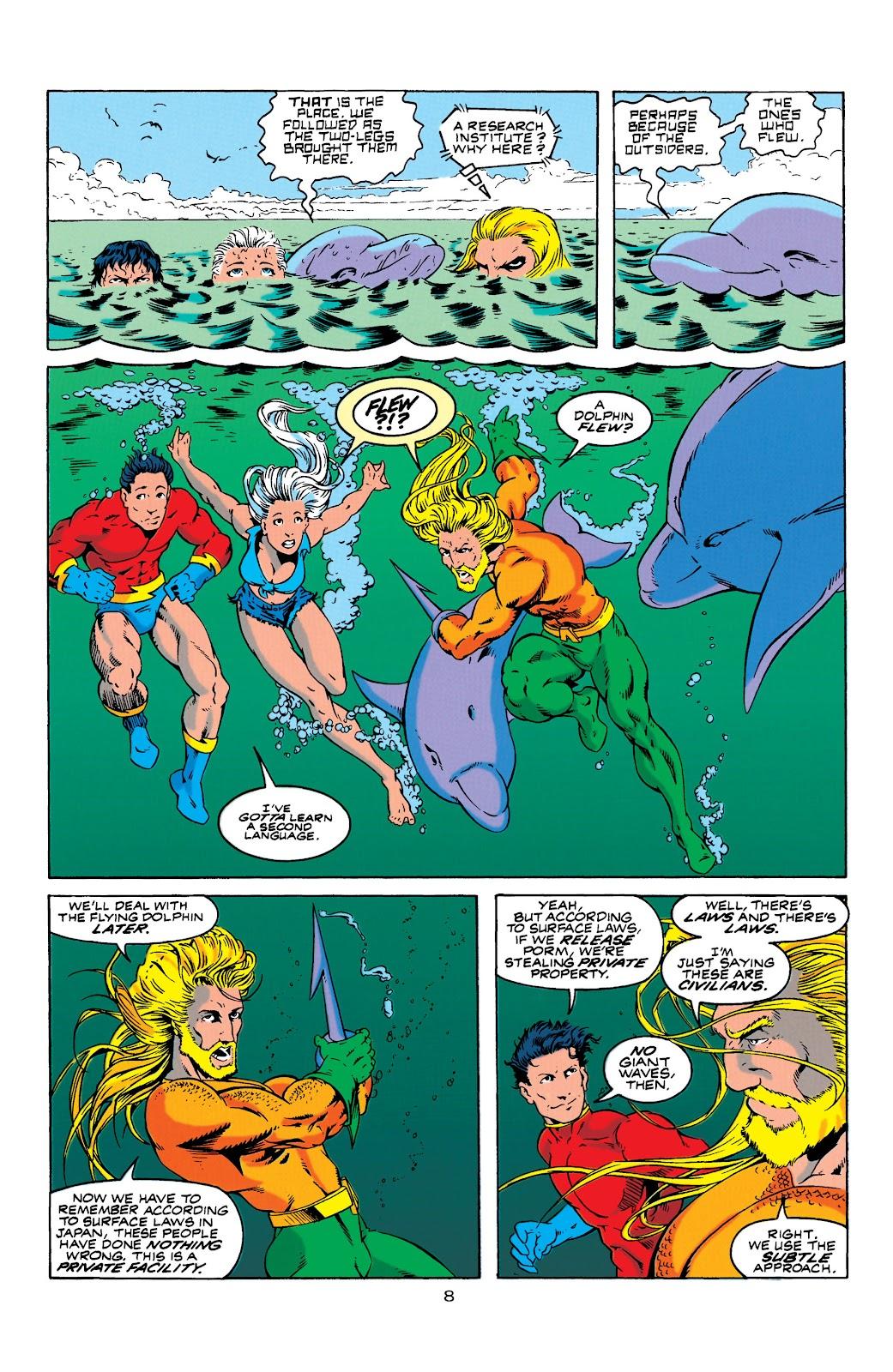 Aquaman (1994) Issue #4 #10 - English 9