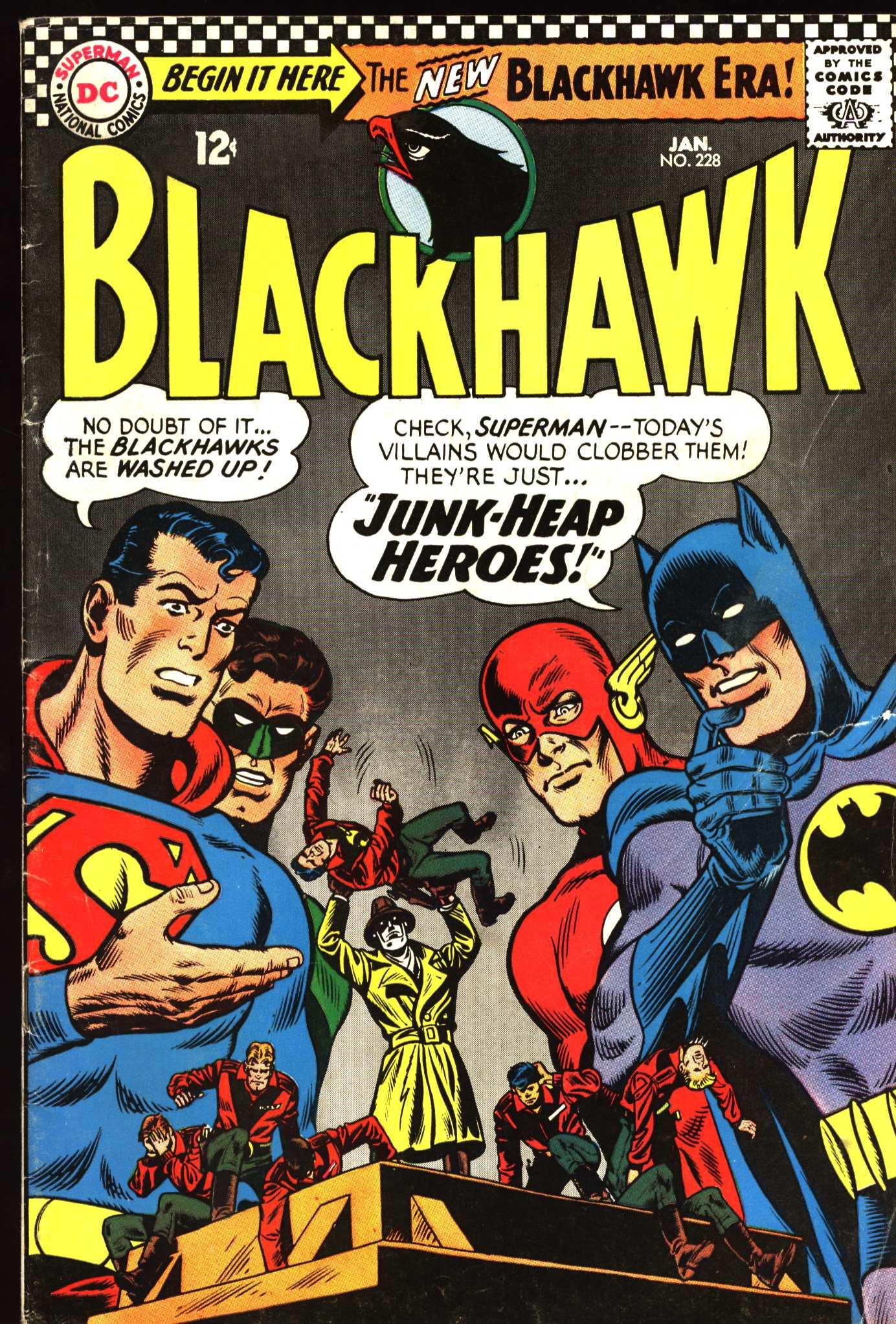 Blackhawk (1957) 228 Page 1