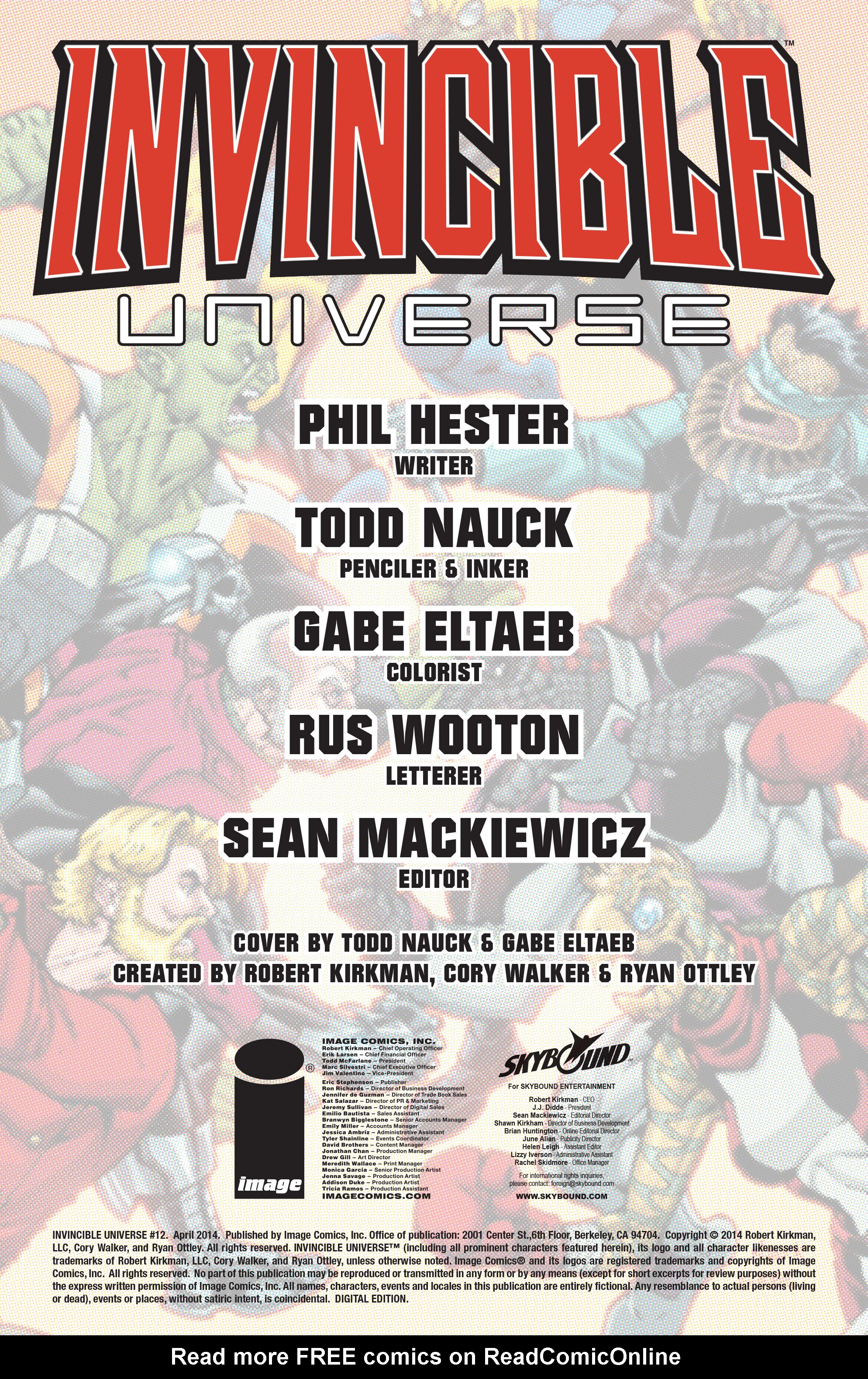 Read online Invincible Universe comic -  Issue #12 - 2