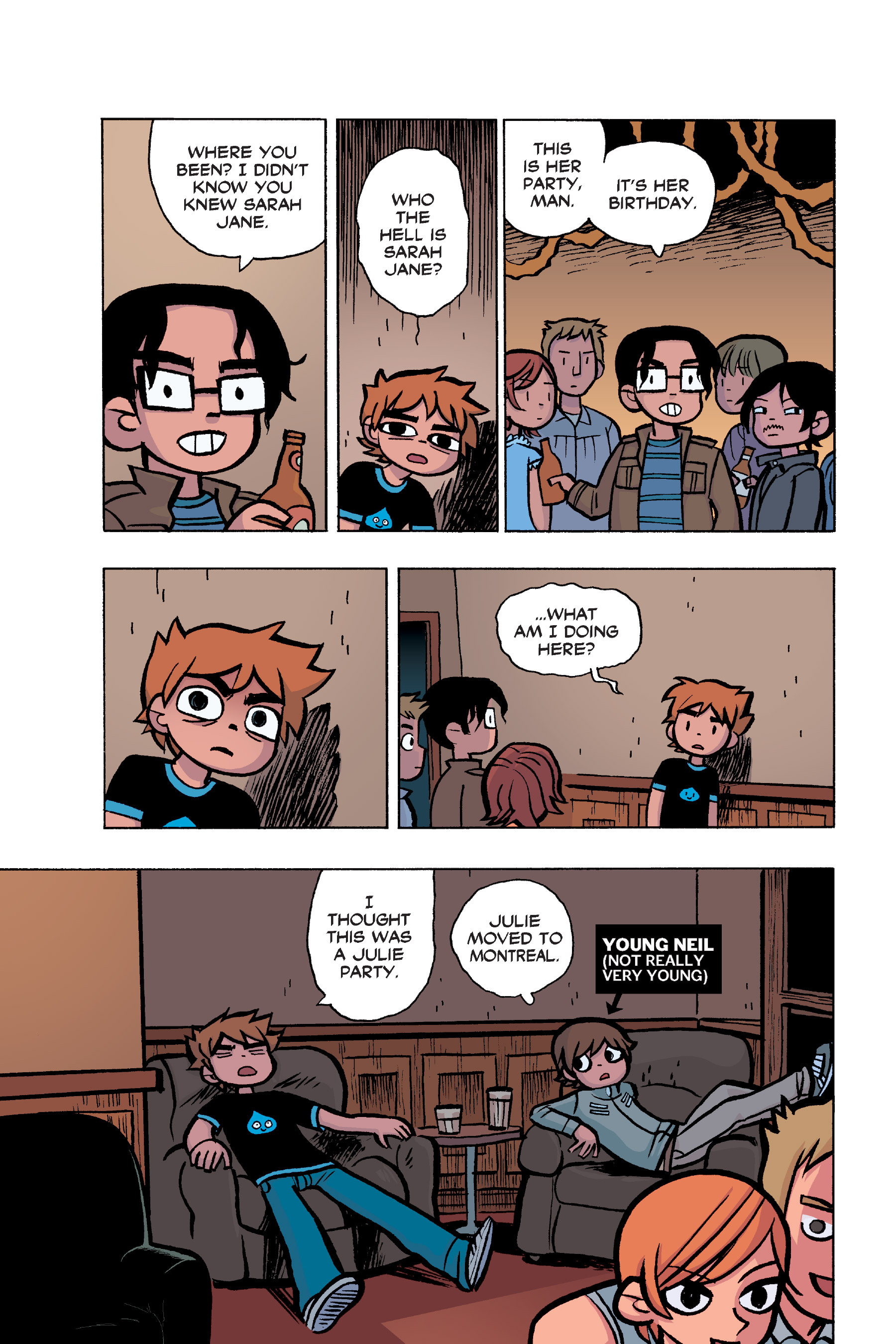 Read online Scott Pilgrim comic -  Issue #6 - 40