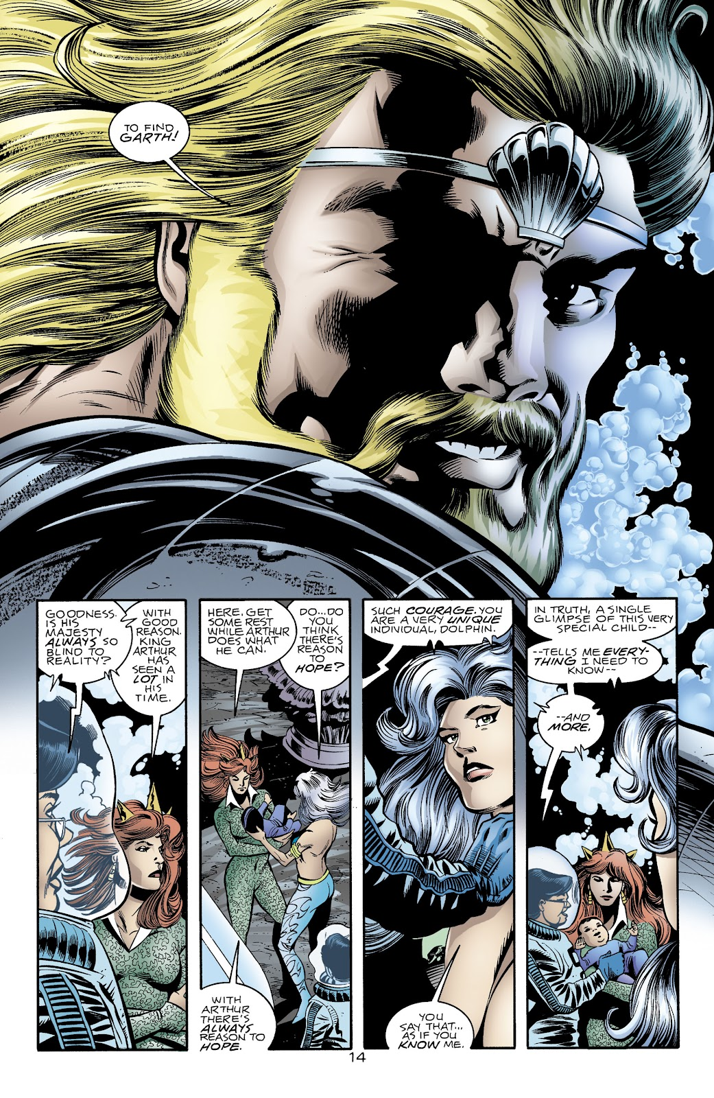 Aquaman (1994) Issue #74 #80 - English 14