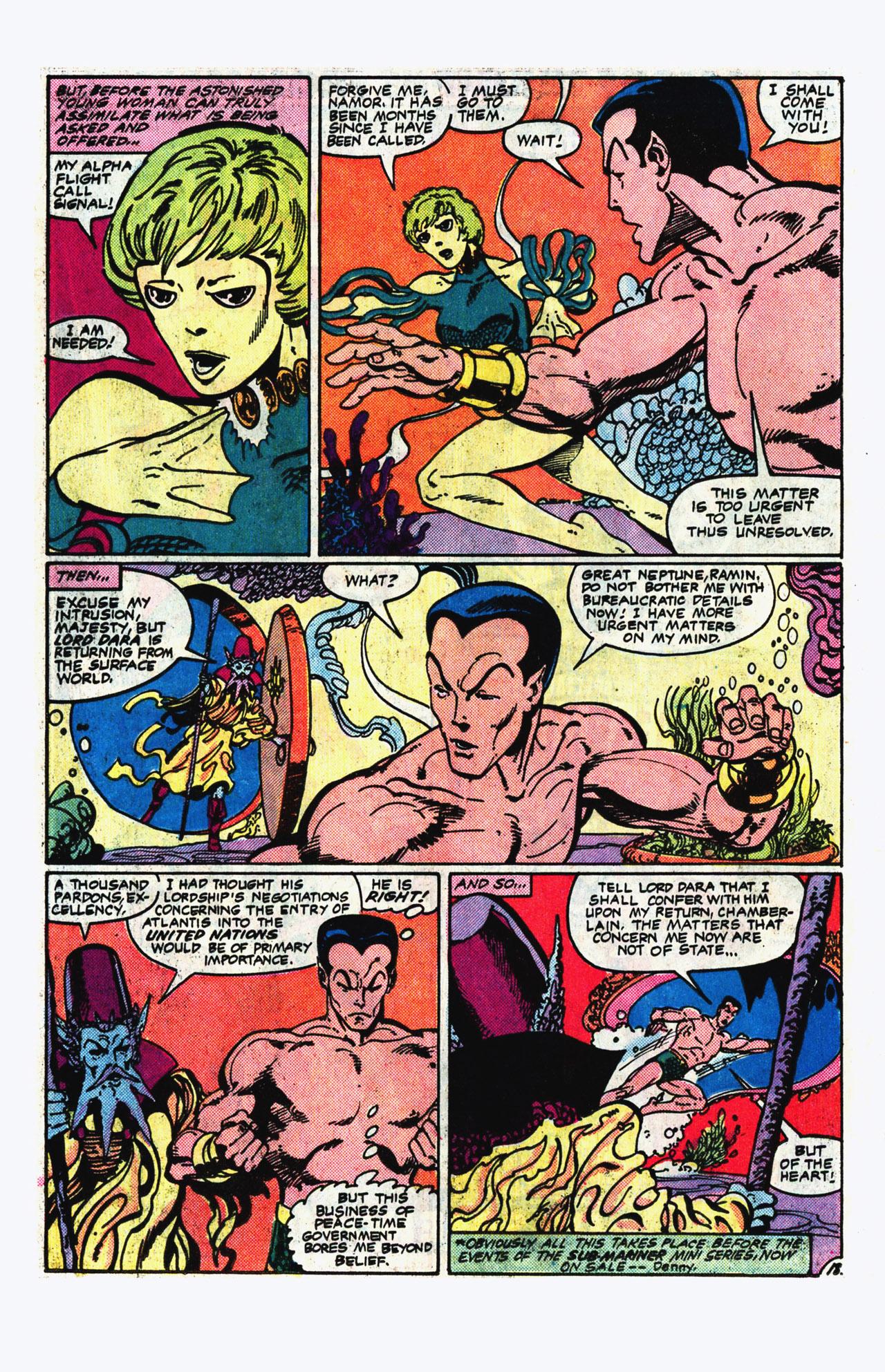 Alpha Flight (1983) 14 Page 18