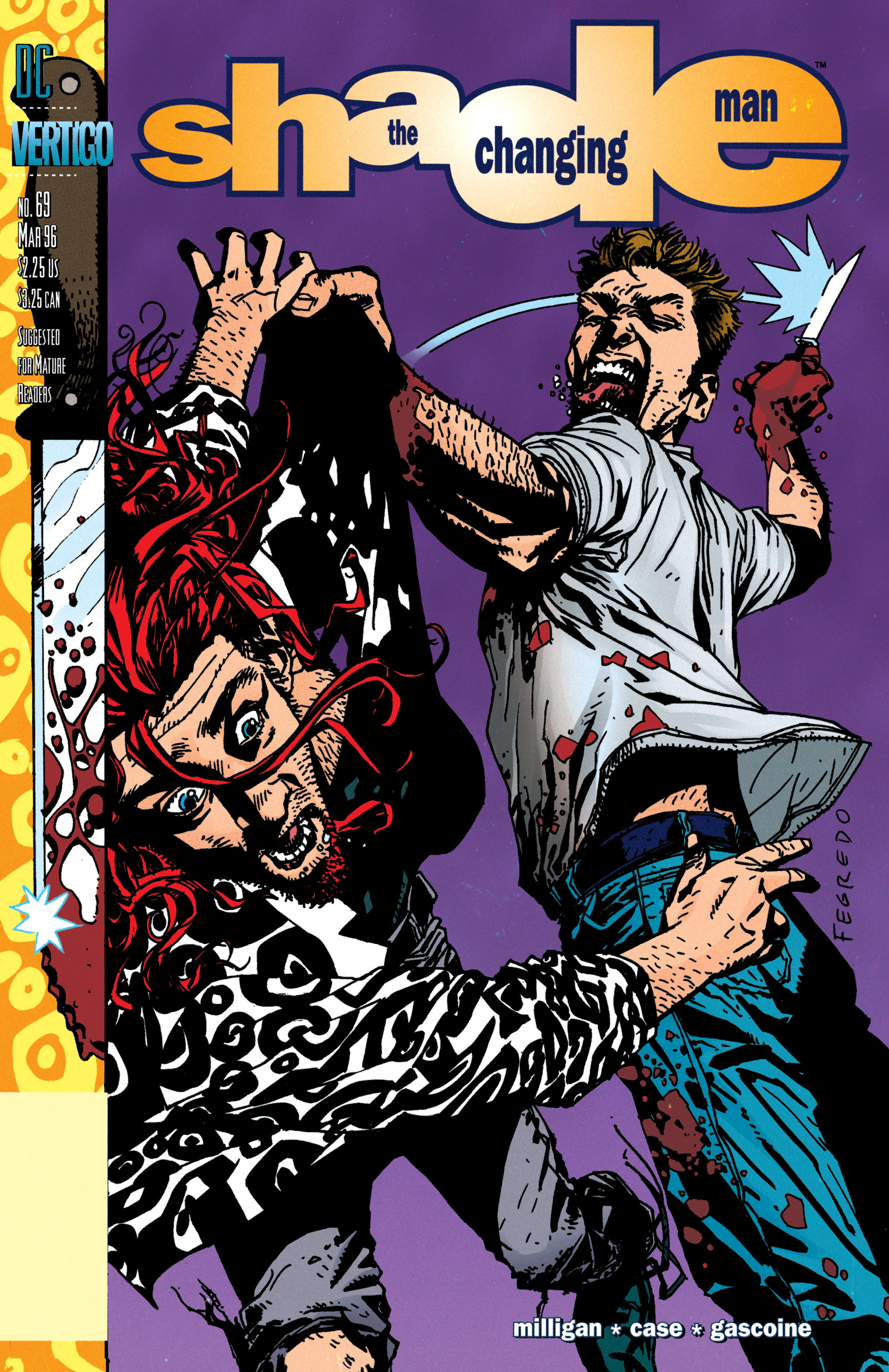 Shade, the Changing Man issue 69 - Page 1