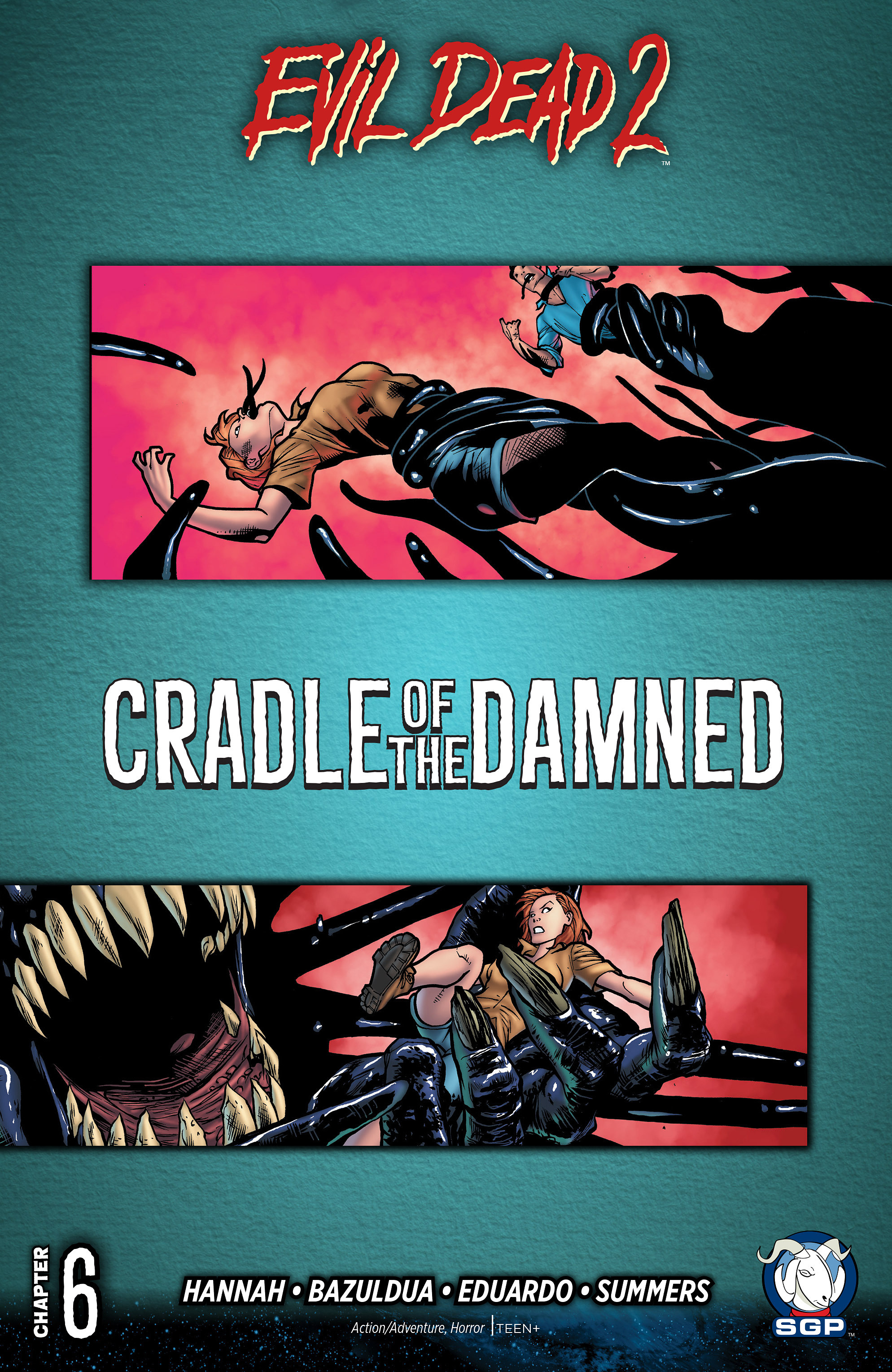 Read online Evil Dead 2: Cradle of the Damned comic -  Issue #6 - 1