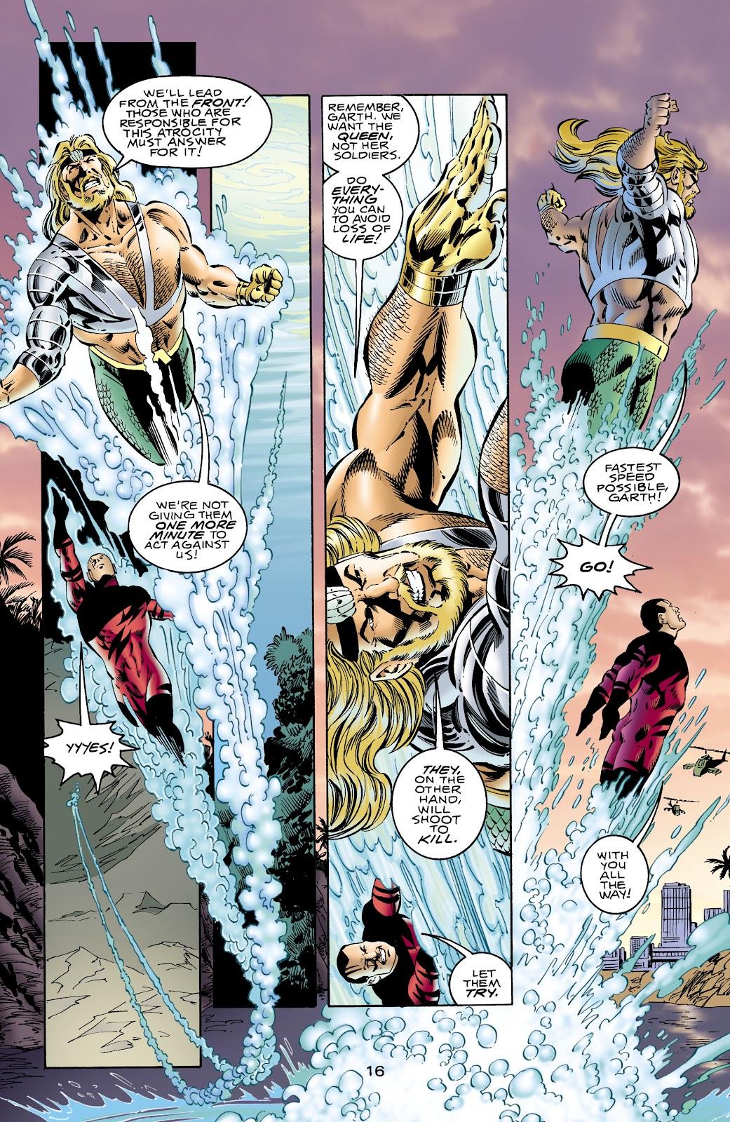 Aquaman (1994) Issue #65 #71 - English 16