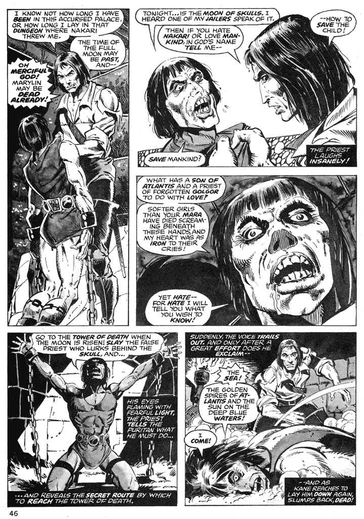 The Savage Sword Of Conan Issue #39 #40 - English 45