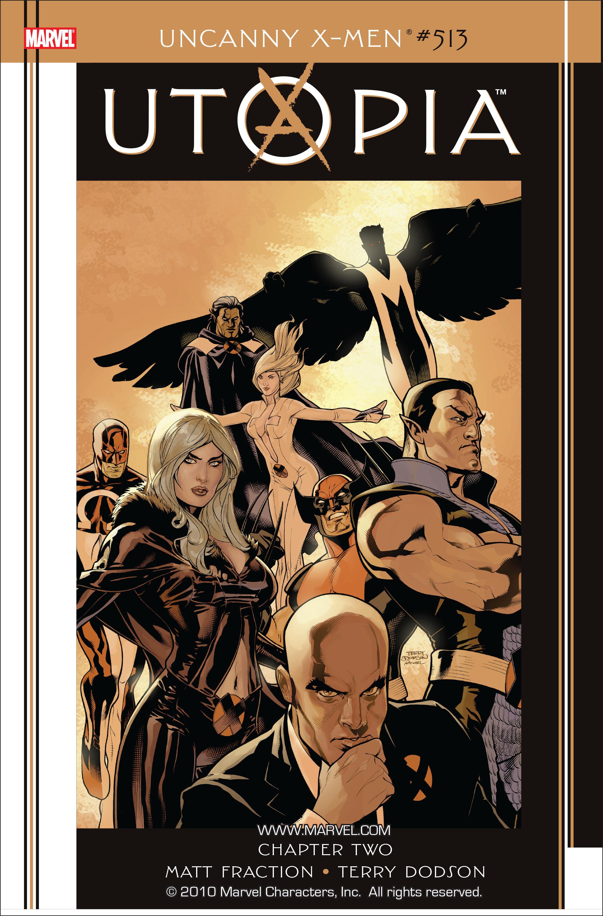 Uncanny X-Men (1963) 513 Page 1