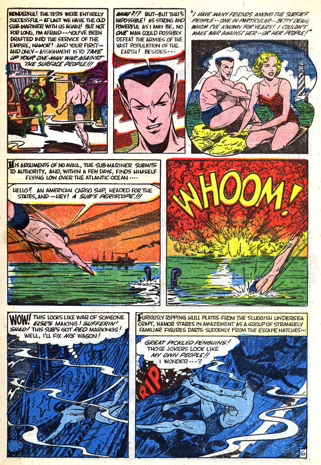Sub-Mariner Comics #38 #38 - English 10