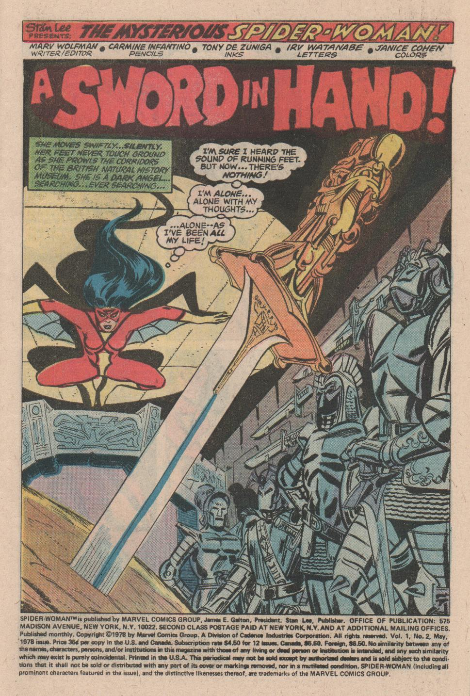Spider-Woman (1978) #2 #49 - English 2