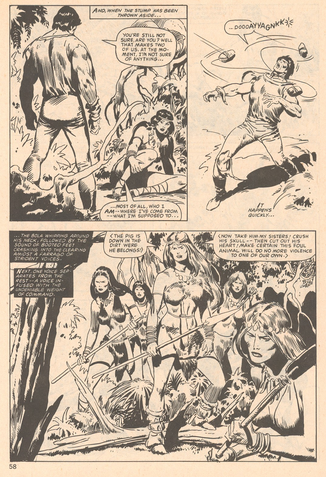 The Savage Sword Of Conan Issue #66 #67 - English 58