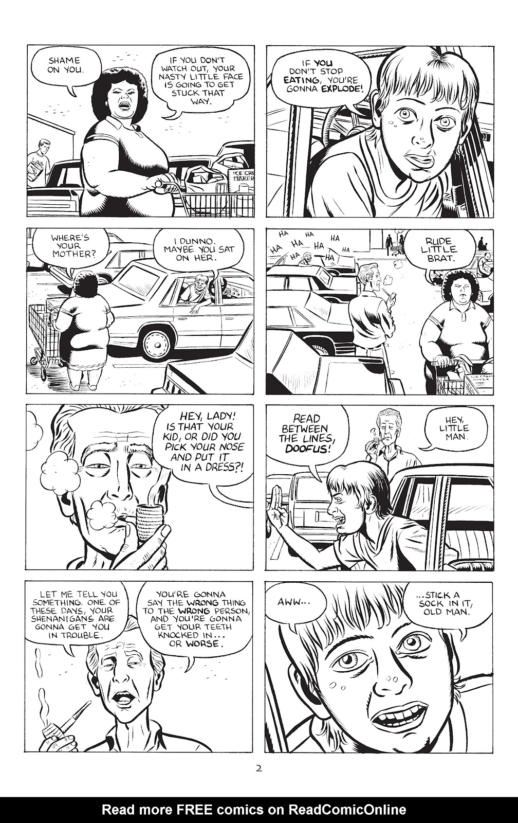 Stray Bullets Issue #32 #32 - English 4