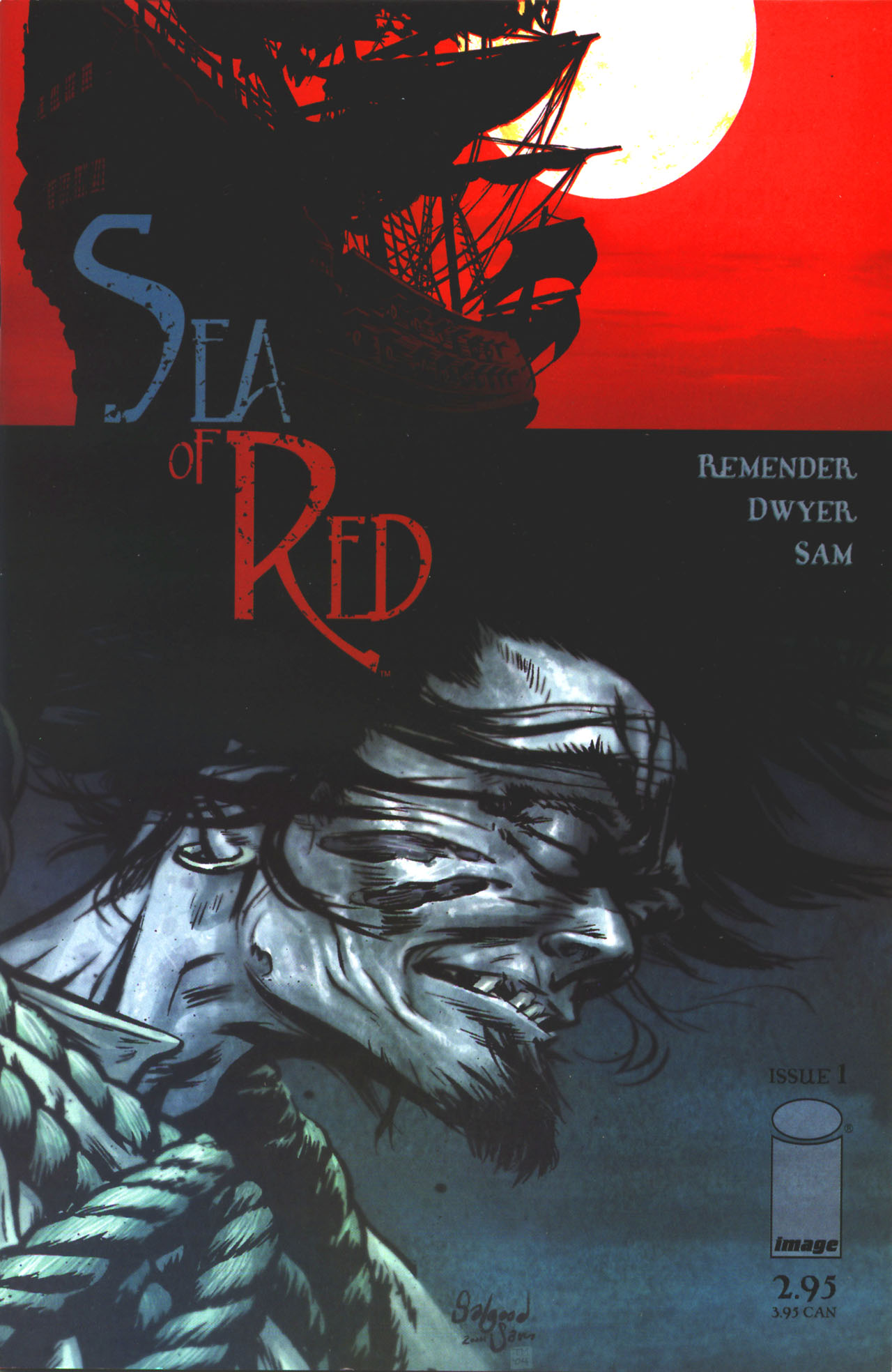 Read online Sea of Red comic -  Issue #1 - 1