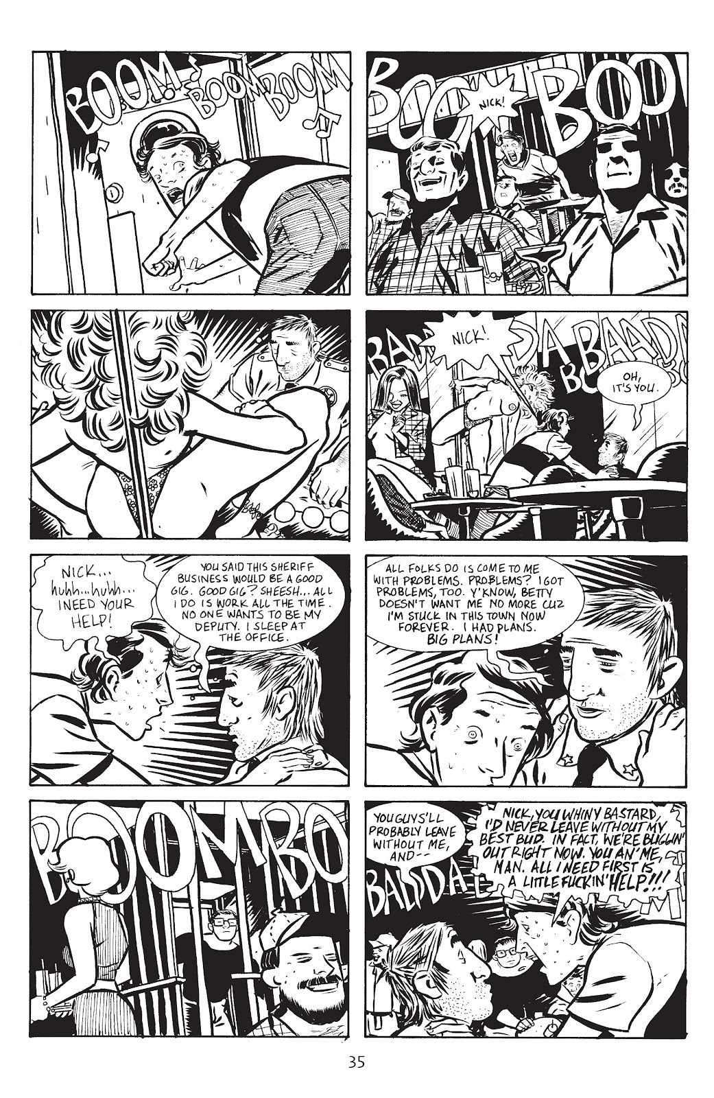 Stray Bullets Issue #14 #14 - English 37