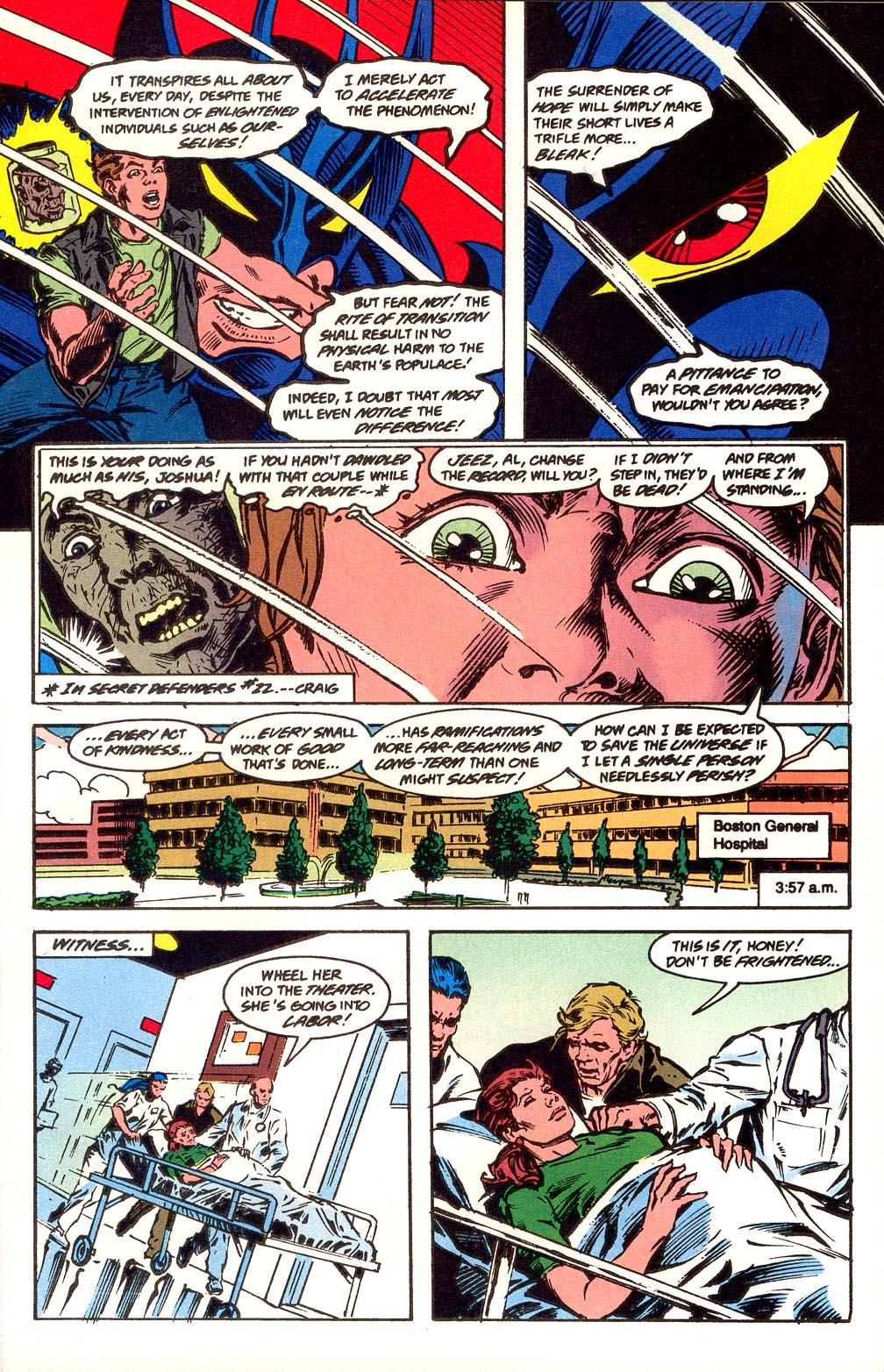 Read online Secret Defenders comic -  Issue #25 - 12