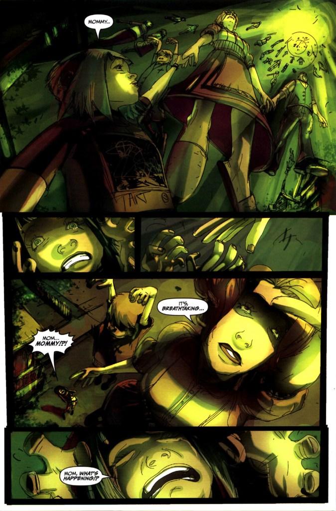 Strange Girl Issue #1 #2 - English 9