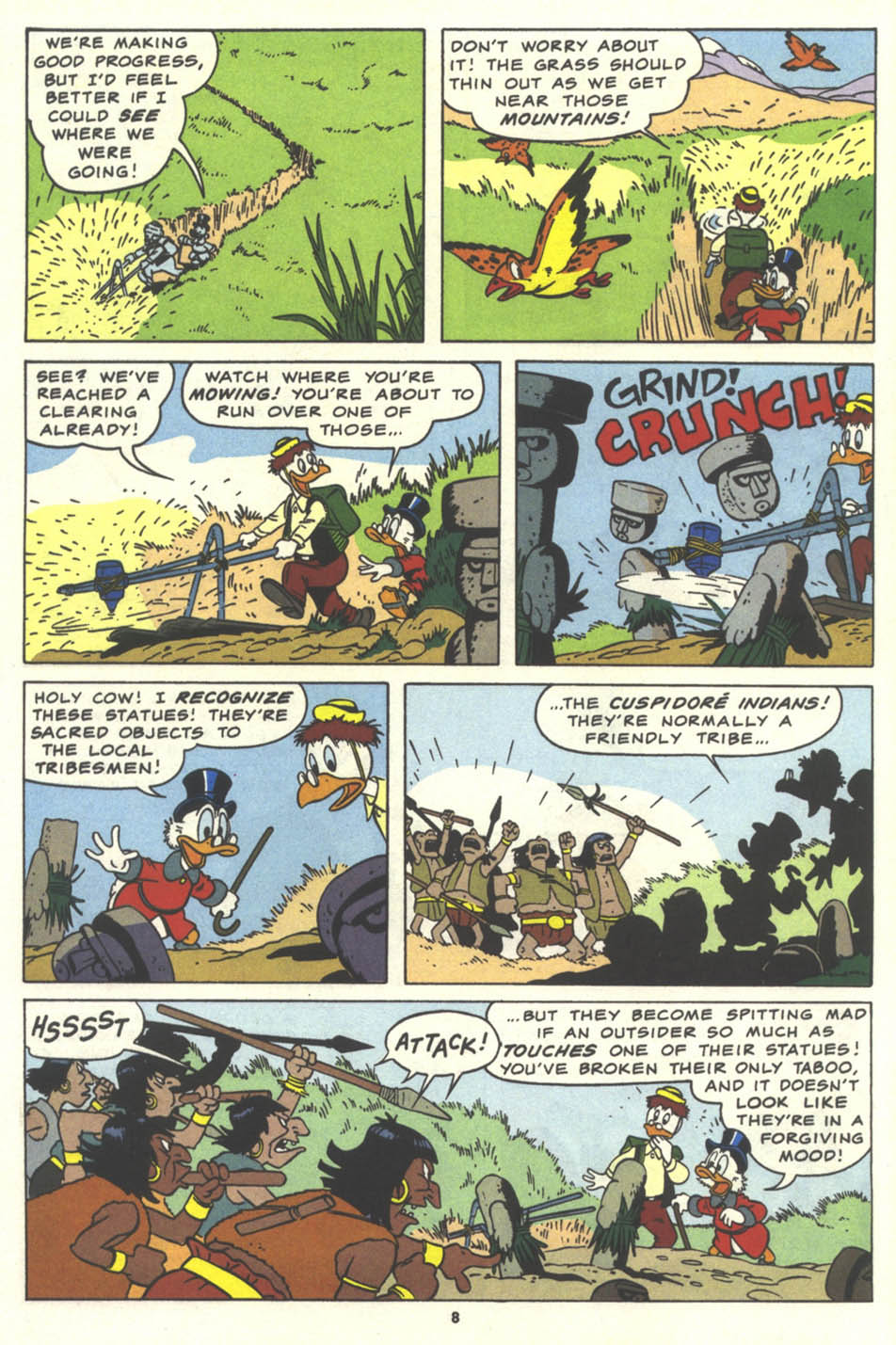 Uncle Scrooge (1953) Issue #259 #259 - English 9