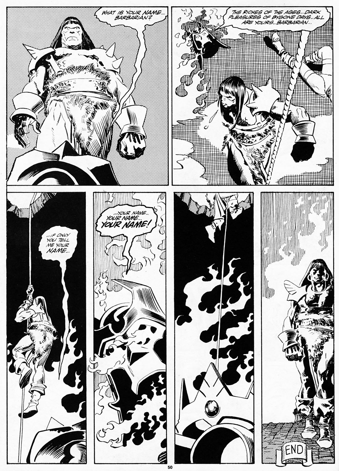 The Savage Sword Of Conan Issue #186 #187 - English 51