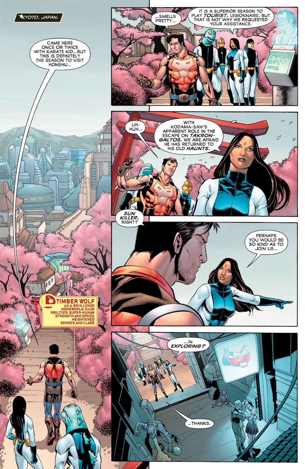 Legion of Super-Heroes (2010) Issue #11 #12 - English 12