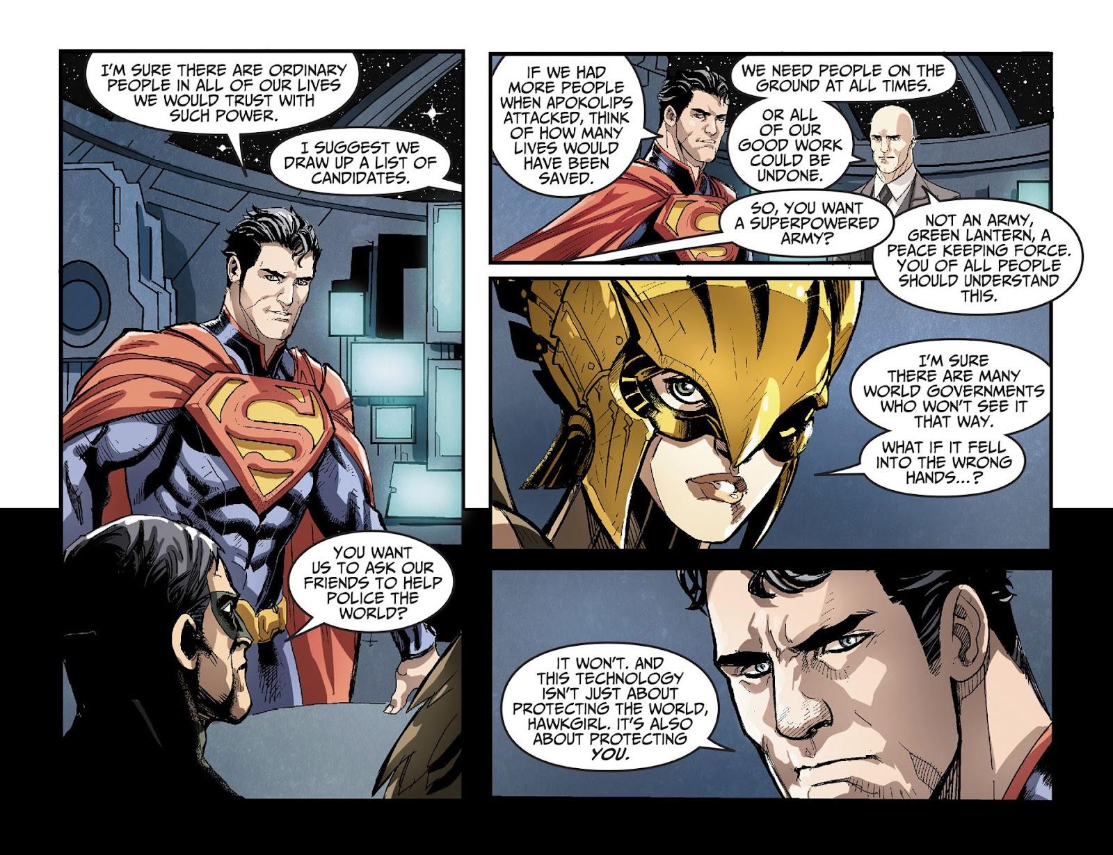 Injustice: Gods Among Us [I] Issue #27 #28 - English 4