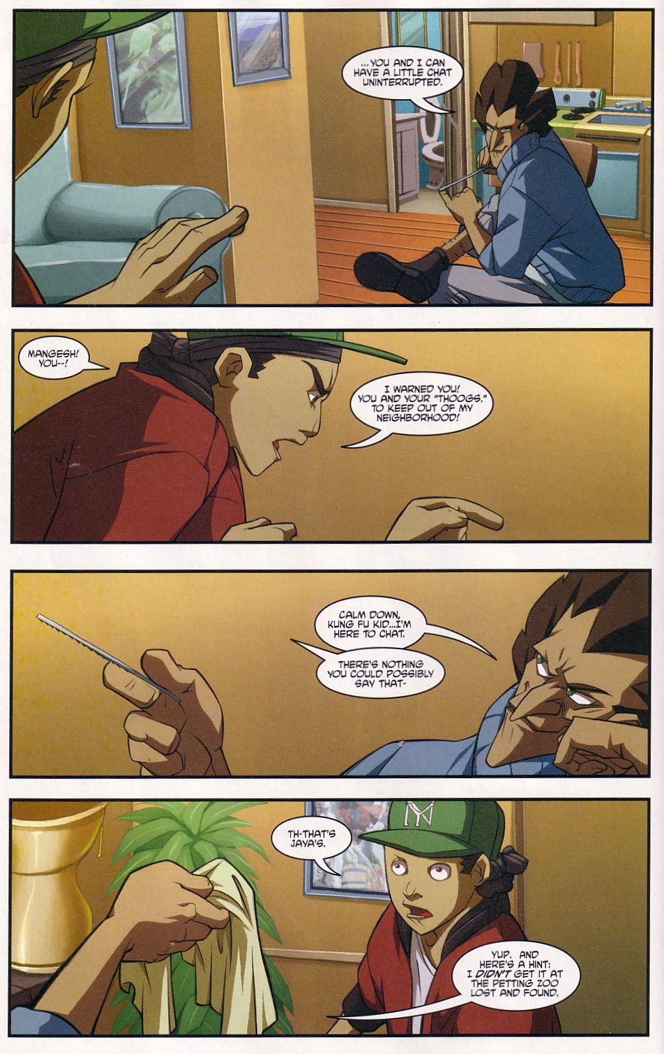 Teenage Mutant Ninja Turtles (2003) chap 7 pic 12