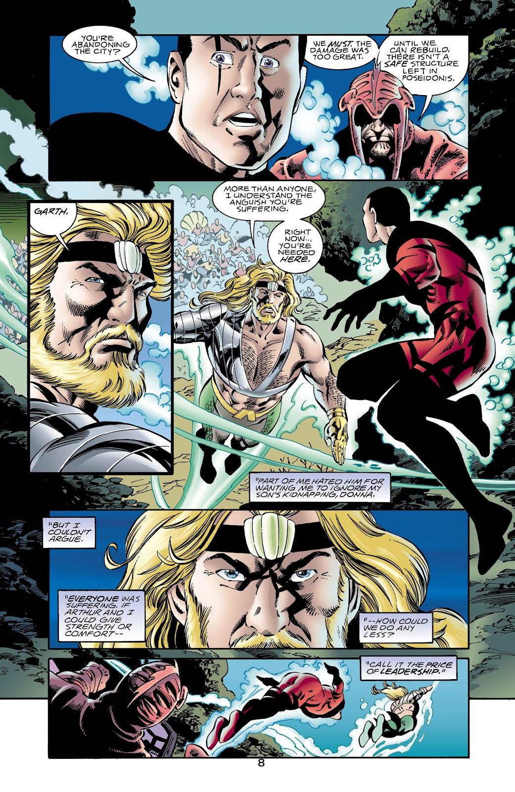 Aquaman (1994) Issue #65 #71 - English 8