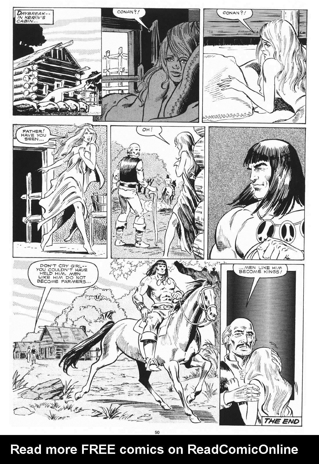The Savage Sword Of Conan Issue #171 #172 - English 52