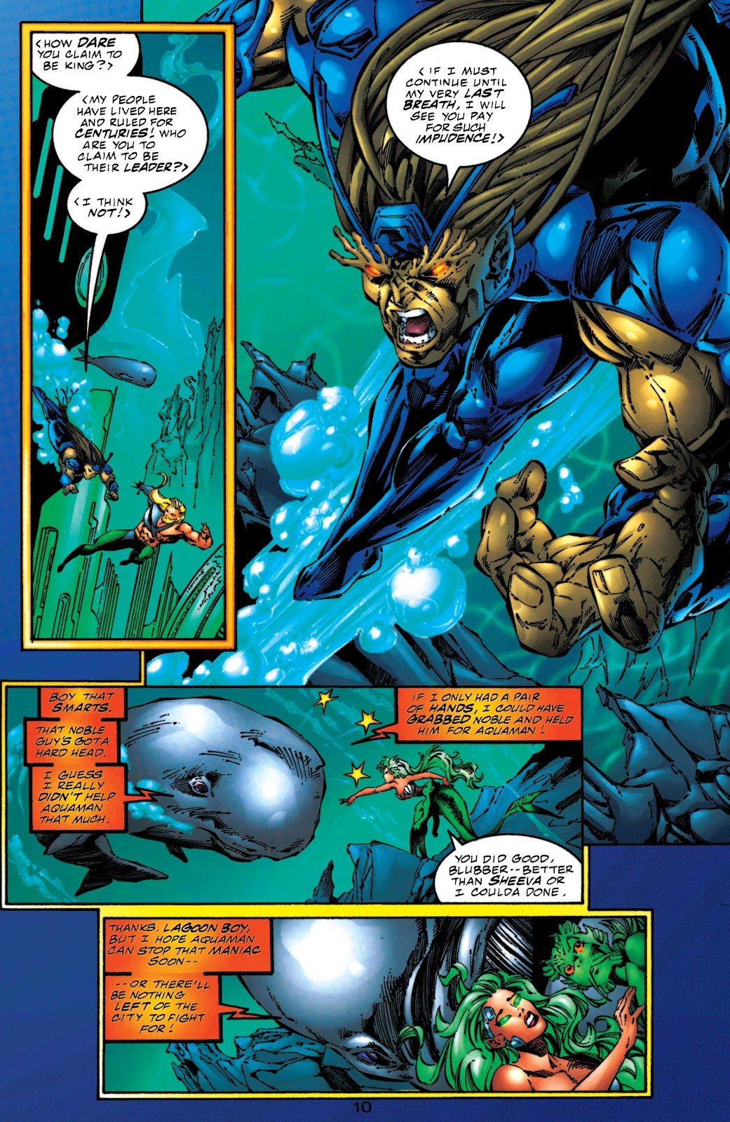 Aquaman (1994) Issue #51 #57 - English 10