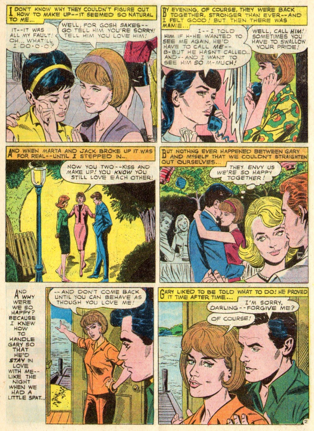 Read online Secret Hearts comic -  Issue #117 - 13
