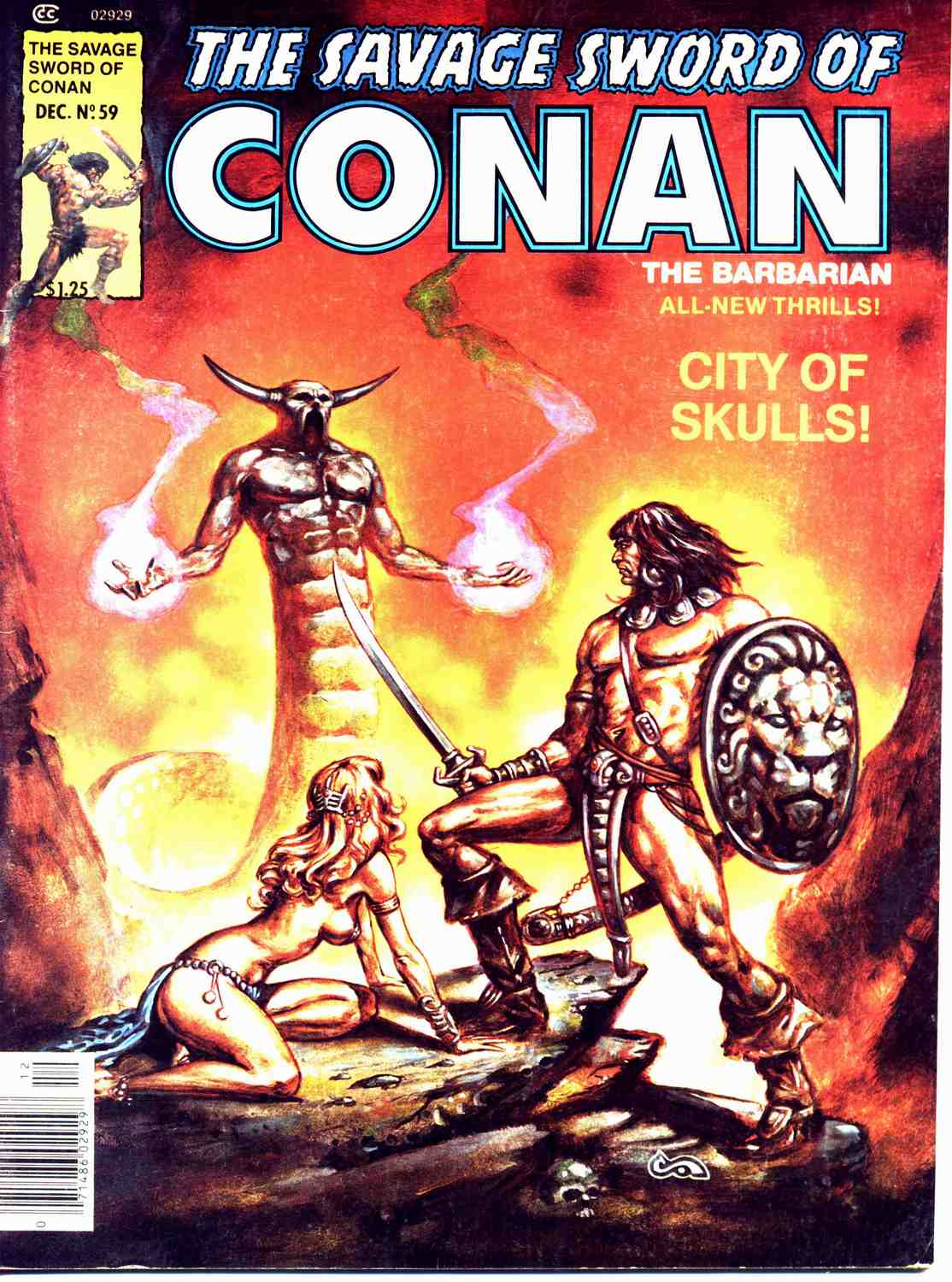 The Savage Sword Of Conan Issue #59 #60 - English 1