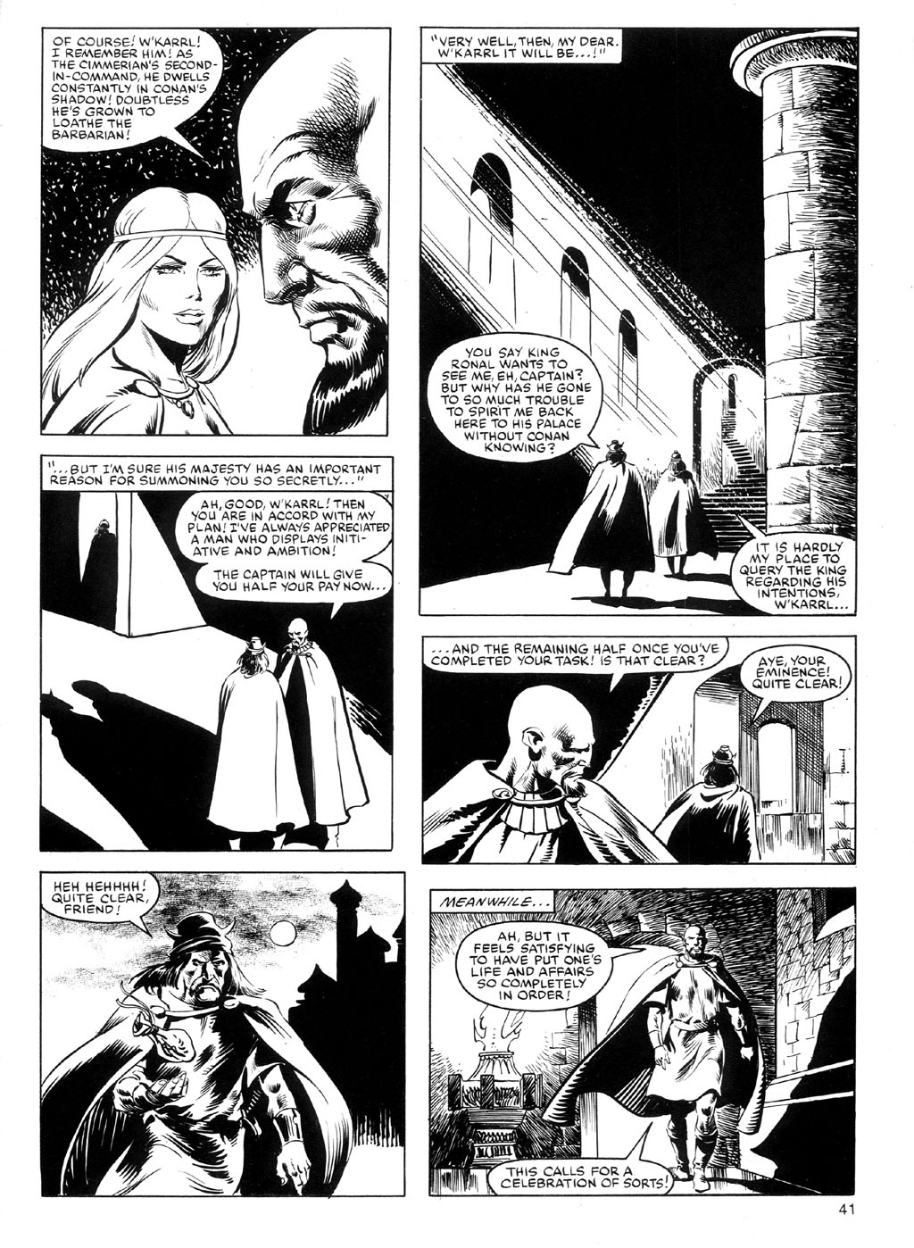 The Savage Sword Of Conan Issue #91 #92 - English 40