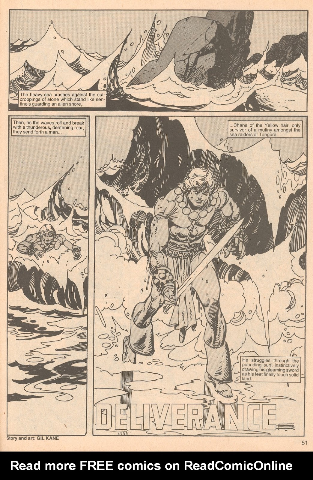 The Savage Sword Of Conan Issue #67 #68 - English 51