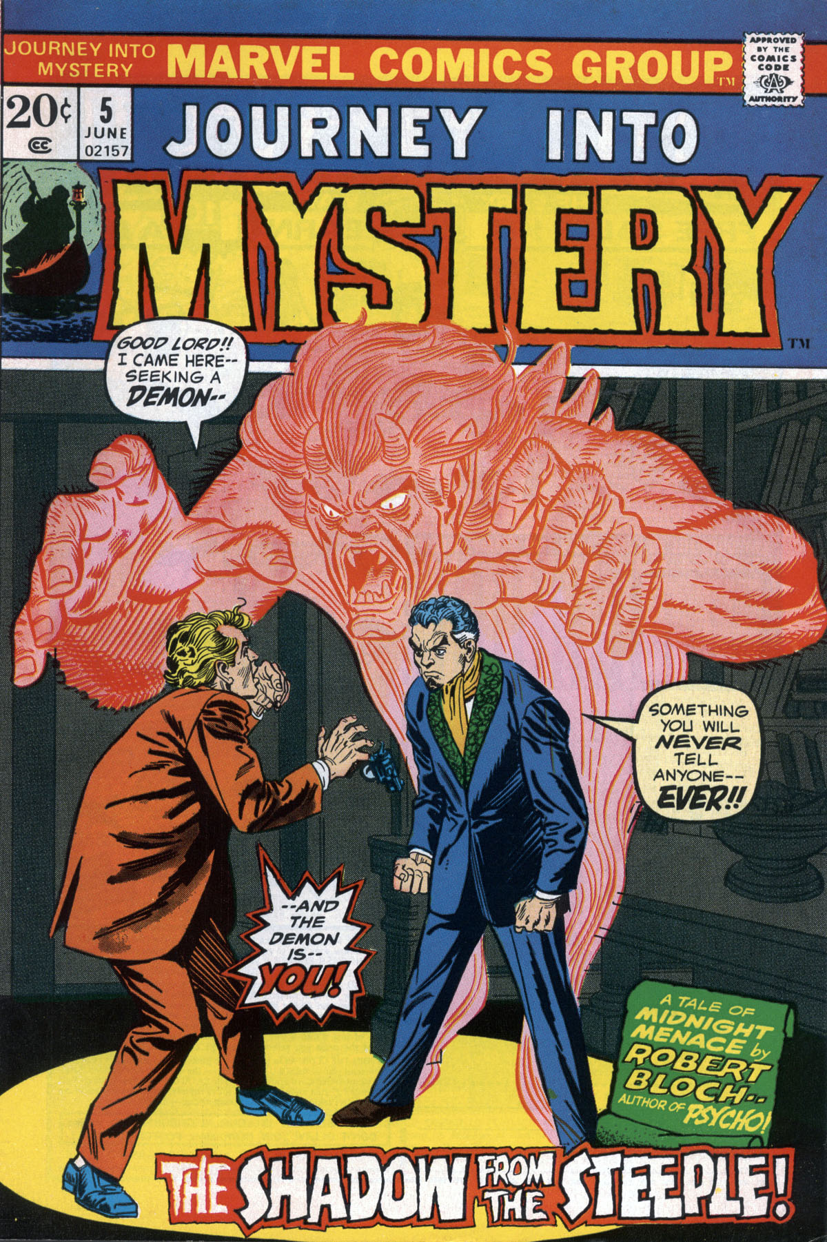 Journey Into Mystery (1972) 5 Page 1