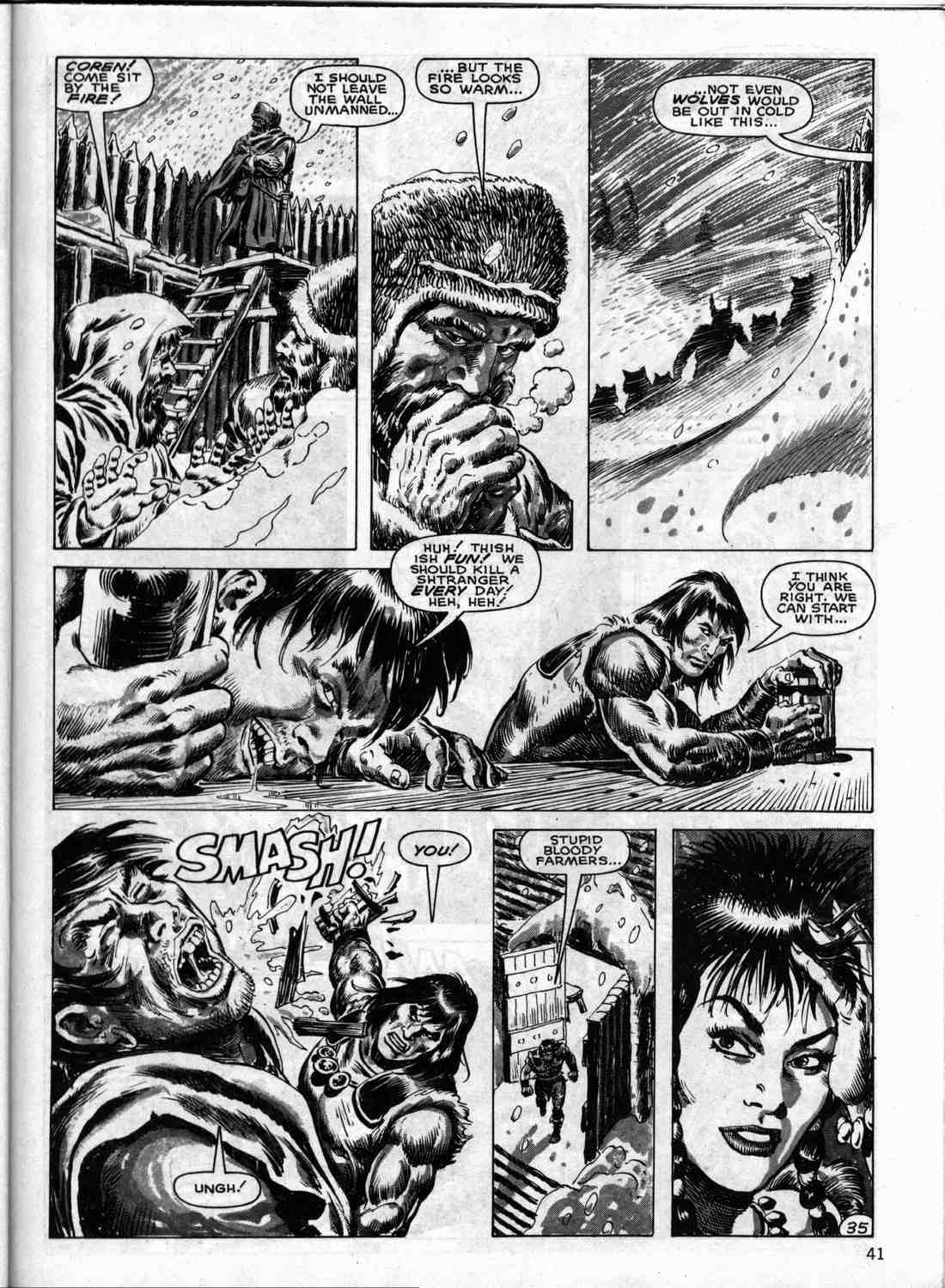 The Savage Sword Of Conan Issue #133 #134 - English 40