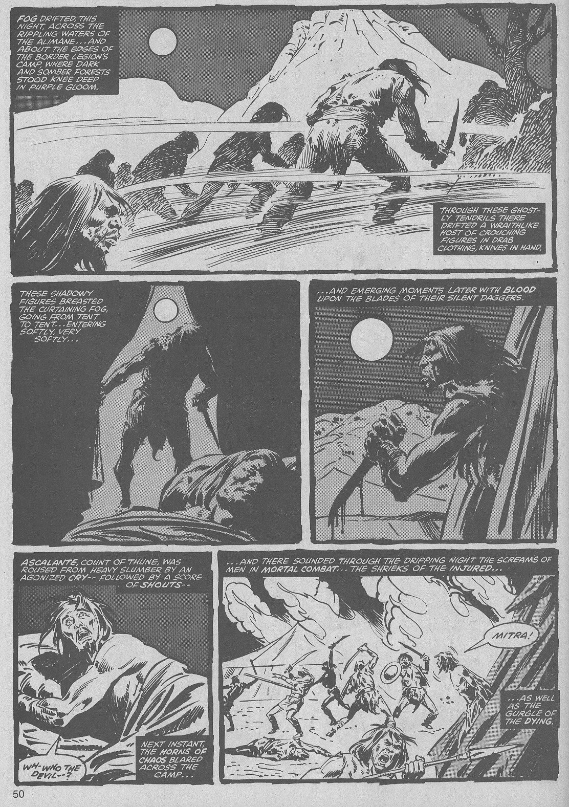The Savage Sword Of Conan Issue #50 #51 - English 50