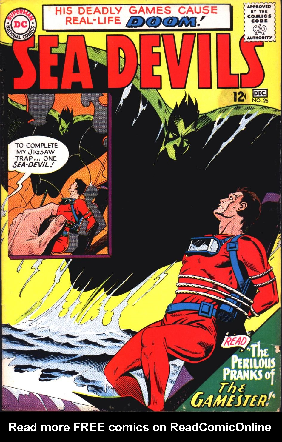 Read online Sea Devils comic -  Issue #26 - 2
